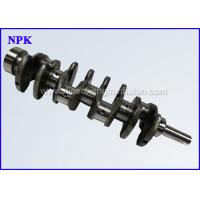 Wholesale Nodular Iron Diesel Engine Crankshaft , 5L Toyota Replacement Parts 13401 - 54100 from china suppliers