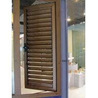 Buy cheap 0.8-1.0mm profile thickness non-corrosion aluminium louver windows with strength, durable from wholesalers