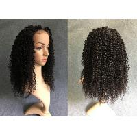 Wholesale Customized Length Lace Front Human Hair Wigs Natural Black For Black Women from china suppliers