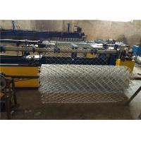 Wholesale High Zinc Coated 200g / SQM Galvanized Chain Link Fencing 50mm for Residential from china suppliers