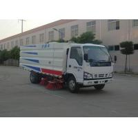 Wholesale High Pressure Water Circuit Road Sweeper Truck 4x2 5500 Liters For ISUZU from china suppliers