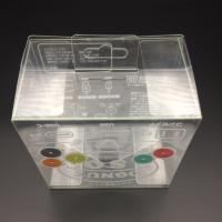 Wholesale China small clear PVC boxes with hanger wholesale plastic gift box from china suppliers