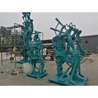 Buy cheap Bronze sculptures for American artist , customized bronze sculpture for exhibition ,China bronze sculpture supplier from wholesalers