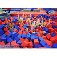 Wholesale Funny amusement park / gymnastics foam pit blocks , sponge foam cube from china suppliers
