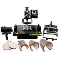 Combo Heat Press Machine(8 in 1) Of Heat Transfer Printing