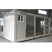 Wholesale Portable Commercial Glass Container House with EPS / PU Sandwich panel from china suppliers