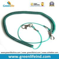Wholesale Fishing Camping Kayak Lanyard Spring Coil Safety Belt Blue Color from china suppliers