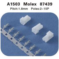 Wholesale Molex 87439 replace 1.8mm pitch housing and crimp contact connectors from china suppliers