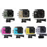Wholesale Professional Small Portable HD 1080P Action Camera Waterproof with12MP CMOS Sensor from china suppliers