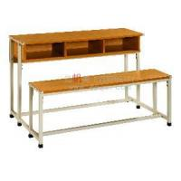 Wholesale Connective Bench Desk and Chair for Thress Seaters from china suppliers