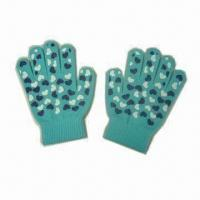 Wholesale Kid's Magic Gloves with Rubber Printing, Made of Acrylic, Available in Various Colors from china suppliers