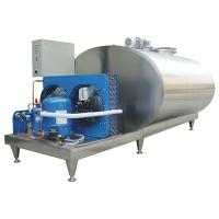 Wholesale Brewing Equipment Sanitary Stainless Steel Tanks / Vertical Milk Storage Tank Container from china suppliers