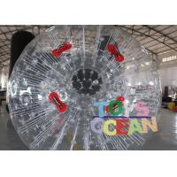 Wholesale Customized PVC Vinyl Tarpaulin Inflatable Walking Ball / Soccer Zorb Ball For Adults from china suppliers