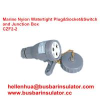 Wholesale 3 pin marine electric socket CZF2-2 waterproof marine socket and switch from china suppliers