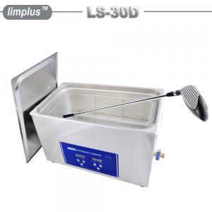 Quality Golf Club Grip Ultrasonic Washing Machine , Household Ultrasonic Cleaner Large Capacity 30 Liter for sale