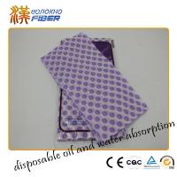 Wholesale House Kitchen Cleaning Wipes , Non Stick Disposable Dish Cleaning Rags from china suppliers