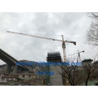 Buy cheap TC5015 Construction Topkit Tower Crane 6T Capacity  for High Temperature from wholesalers