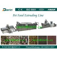 Wholesale Fully continuous and Automatic Fish / Dog Pet Food Extruder Equipment 1ton -3 ton/h from china suppliers