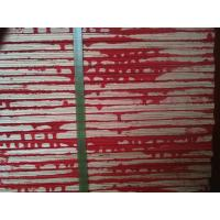 Buy cheap Red waterproof paint construction plywood / waterproof plywood sheets for Concrete from wholesalers