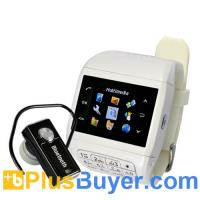 Wholesale Quartz - Dual SIM Watch Cell Phone with Keypad (Touchscreen, Quadband) from china suppliers