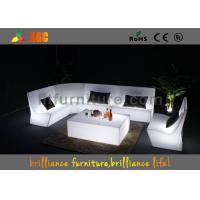 Wholesale Remote Control LED Light Sofa , Light Furniture Sofa Set For Party from china suppliers