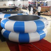 Wholesale Green And Yellow Inflatable Jumpers /Inflatable TrampolineFor Children Or Adults from china suppliers