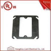 Wholesale Metal Conduit Box Steel One Gang Square Electrical Box Cover , E349123 from china suppliers