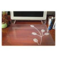 Wholesale Comfortable Custom Desk Pad Transparent Desk Mat For Dining Table / Tea Table from china suppliers