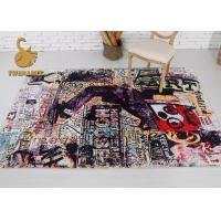 Wholesale Good Flexibility Modern Floor Rugs For Child Stain / Dirt Resistance from china suppliers