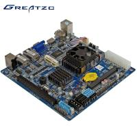 Wholesale Mini ITX Boards Data Storage Server Industrial PC Motherboard DC12V NAS RAID Motherboard 6 SATA from china suppliers