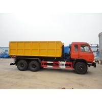 Wholesale Dongfeng 153 6*4 16cbm hook lifter garbage truck, high quality and best price 16cbm swing arm garbage truck for export from china suppliers