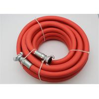 """Quality 3/4""""And 1"""" Rubber Air Hose Assembly , Jack Hammer Hose with Claw Fittings for sale"""
