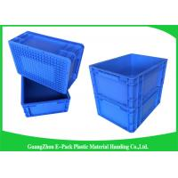Wholesale 400*300mm Mini Load Industrial Plastic Containers , Standard Euro Storage Boxes from china suppliers