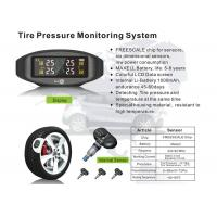 Wholesale Vehicle Tpms Tyre Pressure Monitoring System With Internal Sensors  LCD Screen Data Display from china suppliers