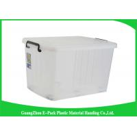 Wholesale Portable Plastic Storage Boxes With Lid , Recycled Big Plastic Storage Boxes from china suppliers