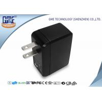 Wholesale Portable USB Travel Adaptor Single Port 5v 0.5A Black Color For Cell Phone from china suppliers