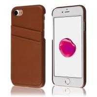 Quality Card Slot Vintage Series Soft Cell Phone Leather Cases 2 Card Slots For Iphone 7 for sale