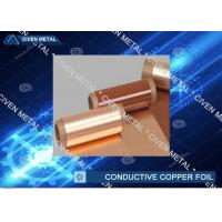 Wholesale High Conductive Electrolytic Copper Foil for Communication cable , wires from china suppliers