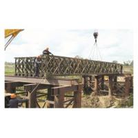 Wholesale Morden Galvanized / Welding Structural Steel Bailey Bridge With Heavy Metal Support from china suppliers