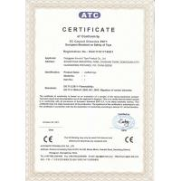 MEEDOLL PLUSH TOYS GIFT CO.LTD., Certifications
