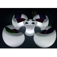 Wholesale 90 X 82X H110 cm LED Chaise Lounges with 16 colors lighting , Modern bar counters from china suppliers