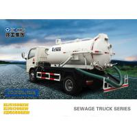 Buy cheap 6.5L Special Purpose Vehicles , Septic Pump Truck For Noncorrosive Mucus Liquid Without Alkalis from wholesalers