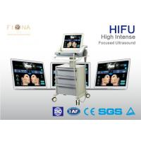 Wholesale Face Skin HIFU Beauty Machine Wrinkle Removal No Radiation White Color from china suppliers