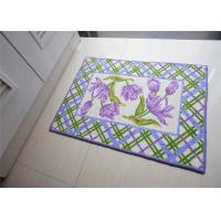Wholesale Bath room / kitchen Non Slip Door Mats , washable door mats non slip from china suppliers