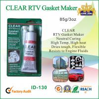 Wholesale Waterproof Clear Non-Toxic RTV Silicone Sealant For Glass / Metal / Fabric from china suppliers