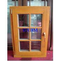 Wholesale Space Saving Timber Casement Windows , Safety Wooden Double Glazed Windows energy saving from china suppliers