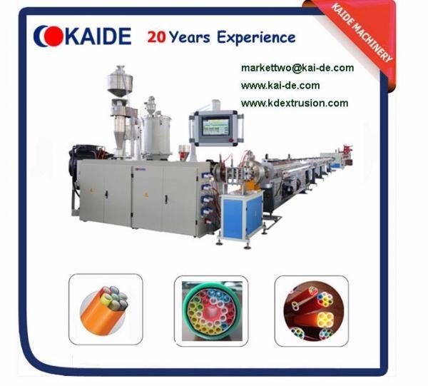 Microduct Fiber Conduit tube Making Machine 3mm-18mm