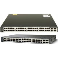 Quality SFP Standard Cisco Network Switch Layer 3 Switch WS-C3750V2-48TS-S for sale