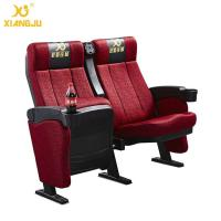 Wholesale ISO9001 Commercial Fabric Tip Up Seat Cinema Theater Chairs Folded from china suppliers