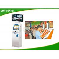 Wholesale Touchscreen Ticket Printing Machine , Free Standing Terminal Printer Kiosk from china suppliers